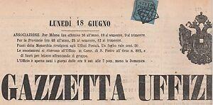 Parma-antichi-stati-9c-su-giornale-CV-58000-con-certificato-Sorani