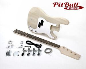 Pit-Bull-Guitars-PB-4-Electric-Bass-Guitar-Kit