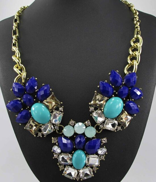 New Design Lady Bib Statement clear acrylic NEWEST crystal necklace collar
