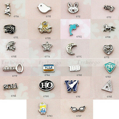 New 2016 Mini Floating Charms for Glass Living Memory Lockets 1pc  Free Shipping