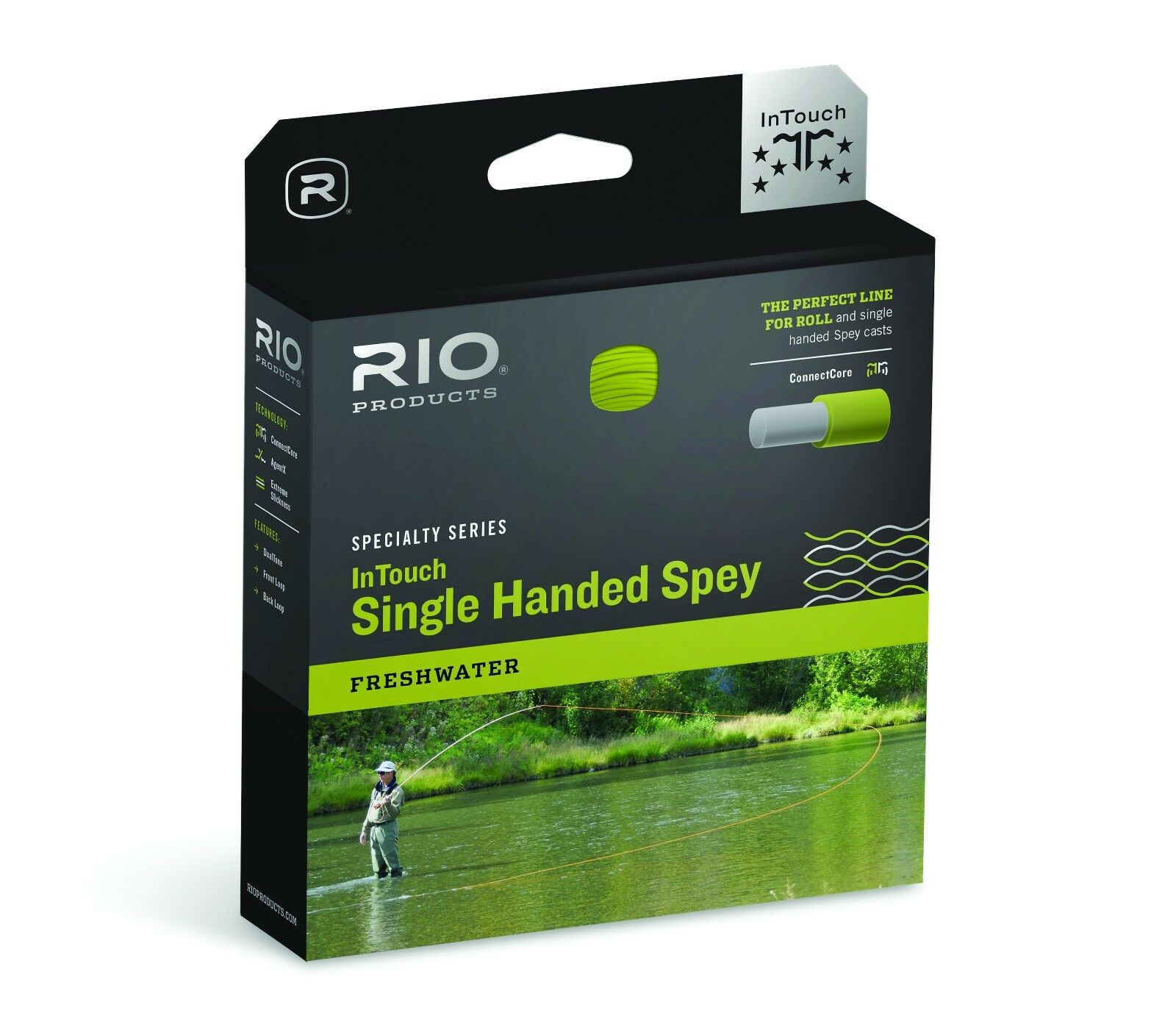 RIO InTouch Single Handed Spey 3D  WF5 FHI  New