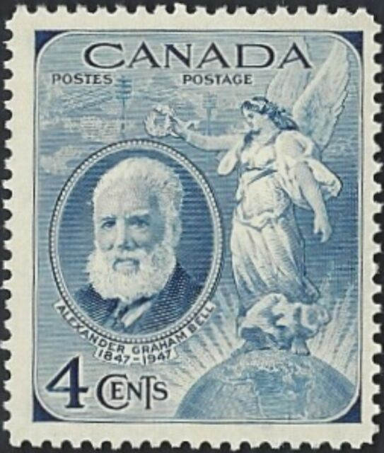 Canada    # 274   ALEXANDER GRAHAM BELL     Very Good  1947  Used Issue