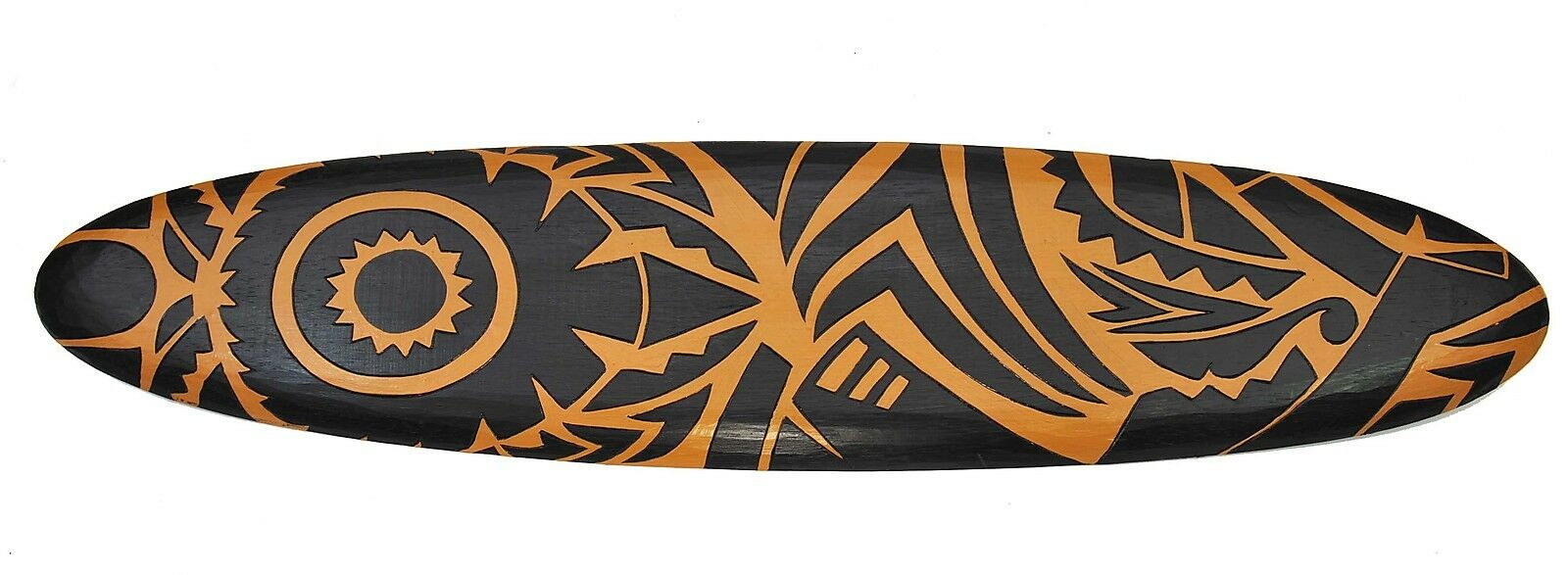 Surfbrett 100cm Moai Maori Tribal Wanddekoration für Surfer