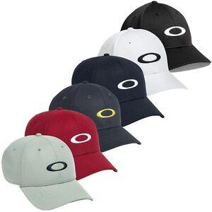 804da181714 Image is loading OAKLEY-Golf-ADJUSTABLE-UNISEX-ELLIPSE-LOGO-Baseball-Hat-