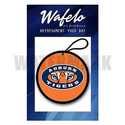 Custom Auburn Tigers Car and Home Air Freshener Wafelo ...