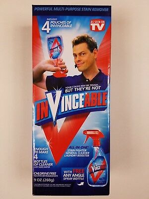 Invinceable All In One Cleaner Stain Fighter Laundry As