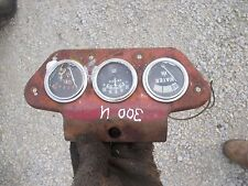 Farmall 350 300 Utility Tractor Ihc Dash Gauge Holder Bracket With Gagues