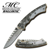 Masters Collection Mc-a006sl Spring Assisted Open Folding Pocket Knife