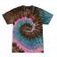 Tie-Dye-Kids-T-Shirts-Youth-Sizes-Unisex-100-Cotton-Colortone-Gildan thumbnail 35
