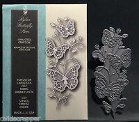 Rylan Butterfly Stem Metal Die Memory Box Dies 99404 Leaves,animals,insects