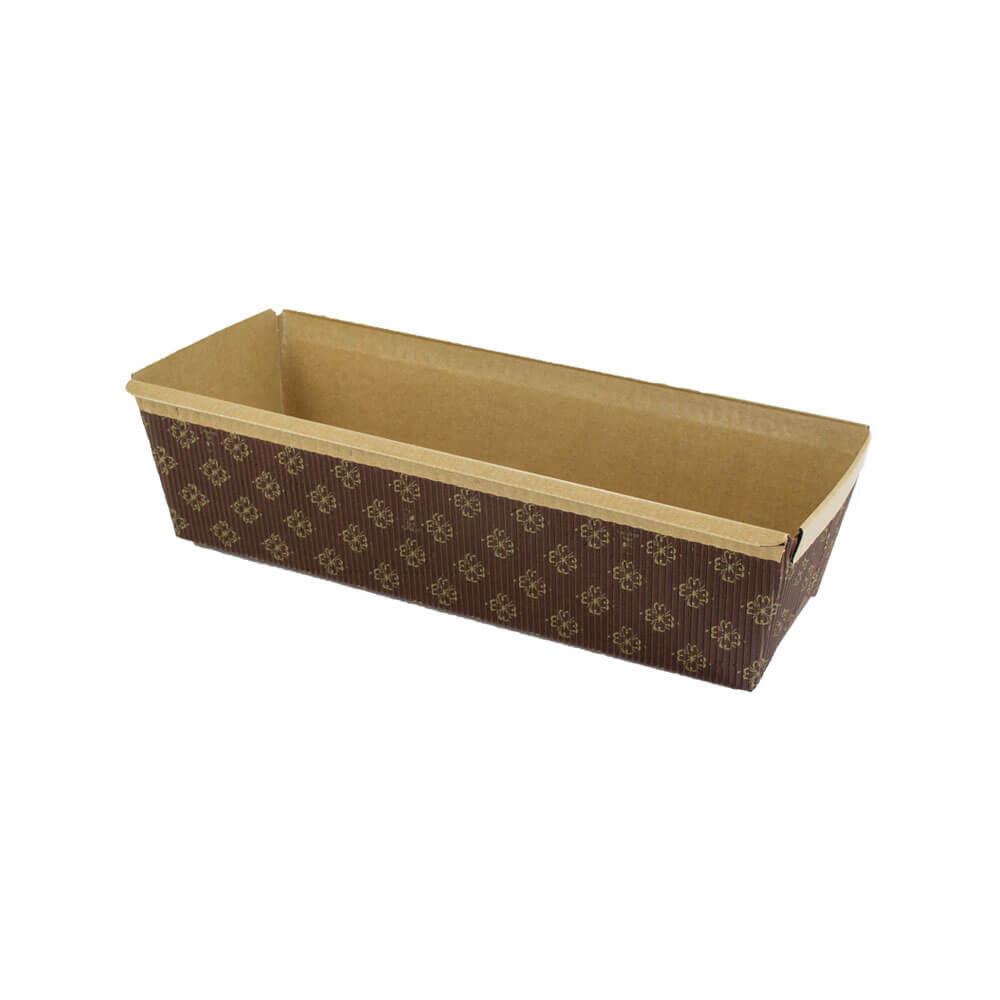 Novacart rectangulaire papier cuisson moule 9-1 4  X 3-1 4  X 2-3 4  H. - cas de 480