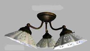 Plafoniere Ottone Stile Nautico : Applique lampada plafoniera ottone casa arredo a punti luce con