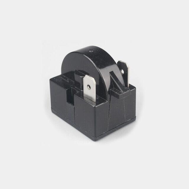 Refrigerator PTC Starter Relay 15 Ohm 4 Pin Compressor Overload Protector 1//6HP