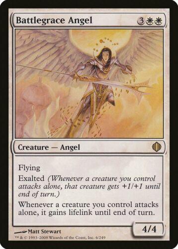 Battlegrace Angel Shards of Alara NM White Rare MAGIC GATHERING CARD ABUGames