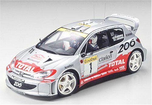 Tamiya Tamiya Tamiya 1 24 Sports Auto Serie No.236 Peugeot 206 WRC 2001 modellolo Auto 24236 1e0e04