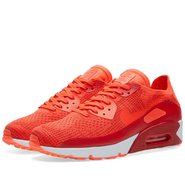 Homme Nike Air Max 90 Ultra 2.0 Flyknit PourpreBlanc 875943 600 Tailles: UK 7 _ 10