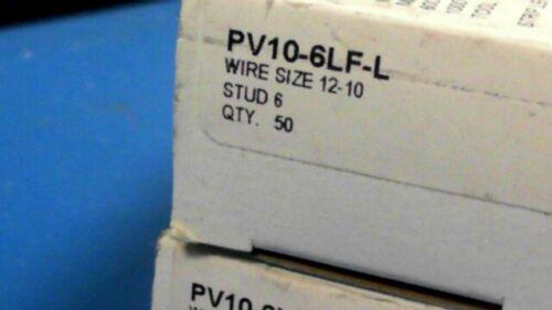 20-PCS PANDUIT PV10-6LF-L 106 PV106LFL