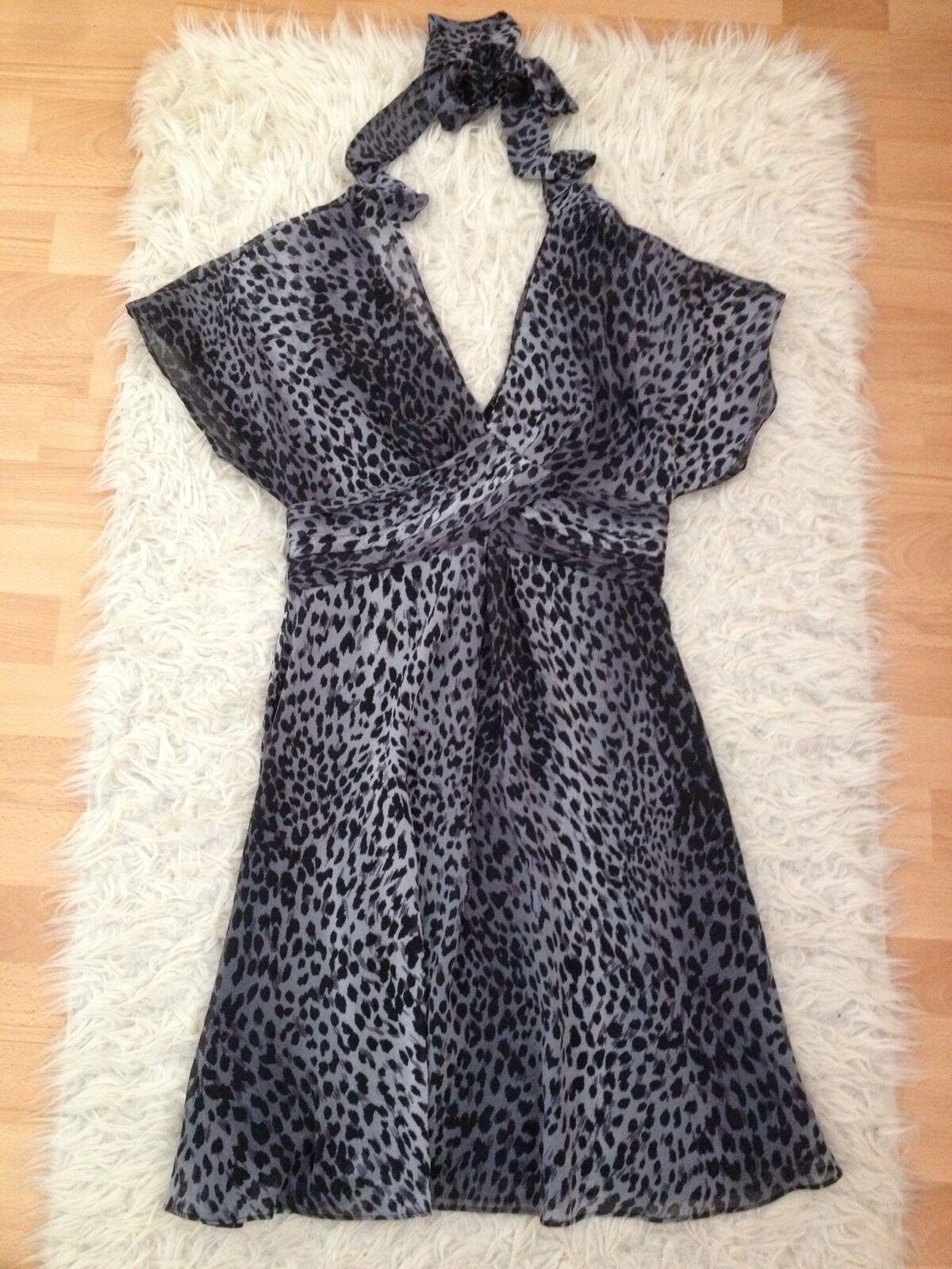 Gorgeous Karen Millen Millen Millen Animal Print Dress, size UK10 - VGC 90aaa5
