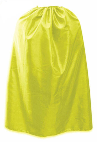 Children Boys Girls Super Hero Deluxe Satin Capes Book Week Fancy Dress Costume