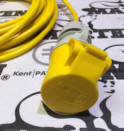 Marten® 110V 10m Extension Cable Lead 16a 110 Volt 1.5mm Site Hook Up
