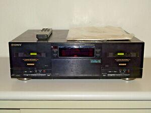 Sony TC-WR835S High-End Doppel Kassettendeck, serviced, FB&BDA, 2J. Garantie
