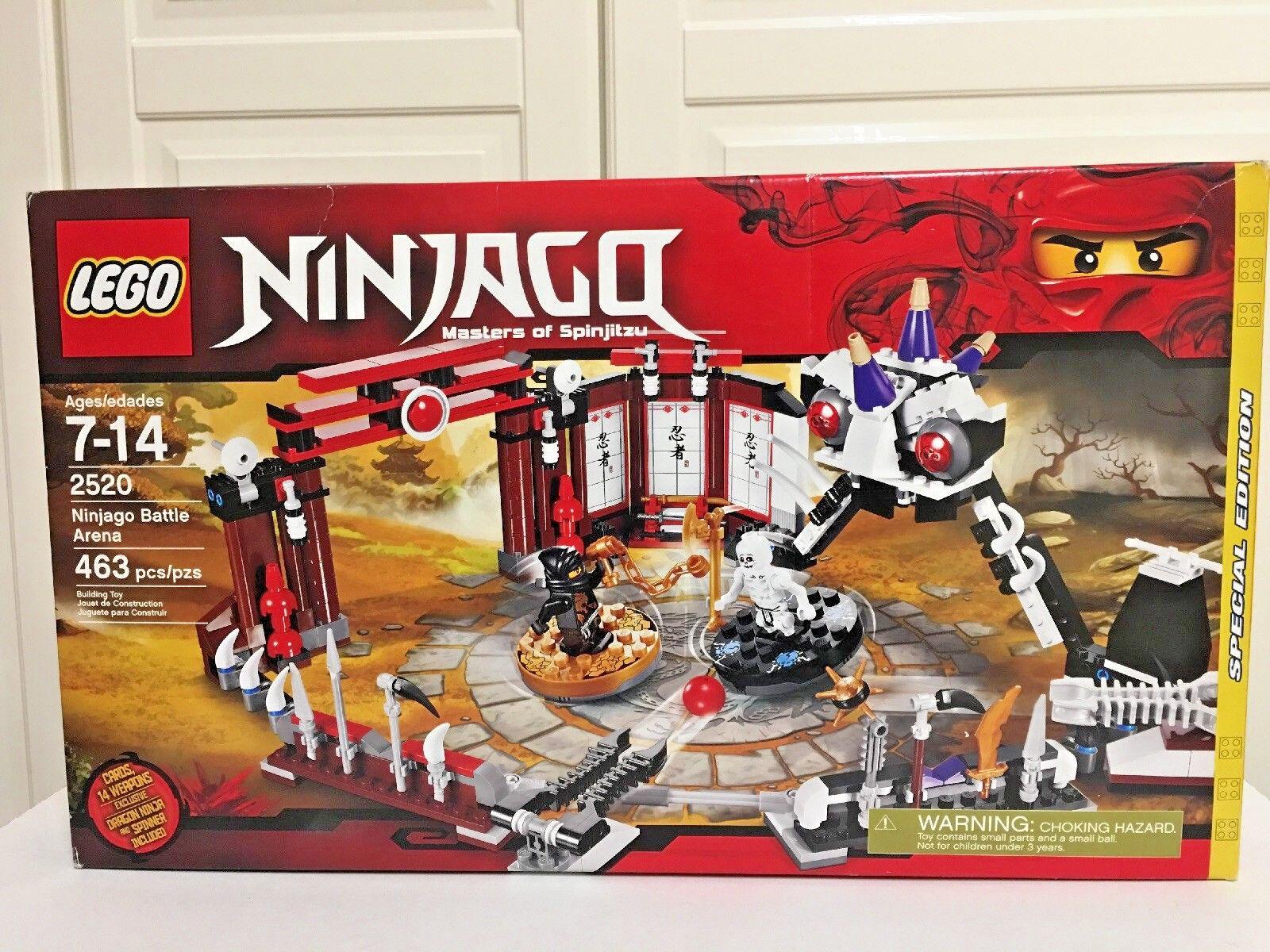 nuovo Lego 2520 Ninjago Masters  of Spinjitzu Battle Arena  negozio online