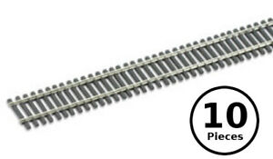 HO-OO-Peco-SL-8300-Code-83-Nickel-Silver-Flex-Track-Wooden-Ties-10x-36-034-Pcs