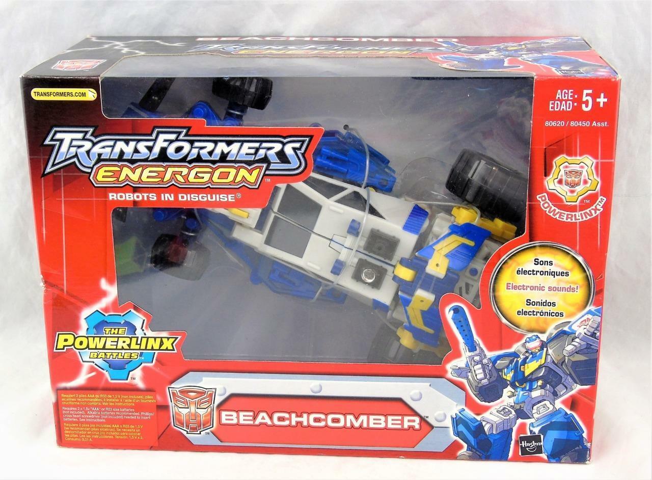 Transformers Energon Powerlinx Strandcomber MISB Selaed