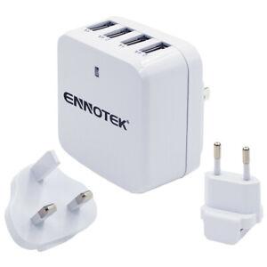 ORICO 30w 6 Amp 4 Port Fast Multi USB Wall Charger EU Plug Travel Power Adapter