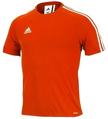 NWT Adidas Men Estro 15 Climalite Top Soccer Fitness Jersey Orange S//S S16152