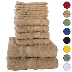 NEW BROWN Color ULTRA SUPER SOFT LUXURY PURE TURKISH 100/% COTTON HAND TOWELS