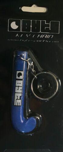 BYTE HOCKEY STICK KEY RING BLUE