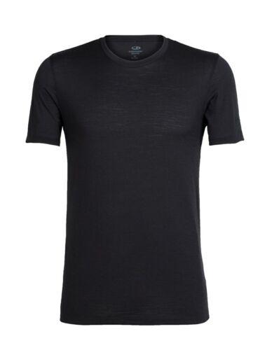 Icebreaker Tech Lite Short Sleeve Crewe Men T-Shirt Herren Kurzarm schwarz