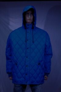 hot sales c0d97 53f2d Details about Authentic Nord Aspesi Men's quilted polyester down parka US  Large