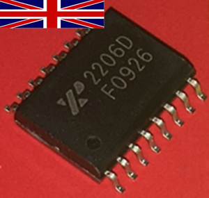 XR2206D SOIC-16 Waveform Generator Integrated Circuit from Exar