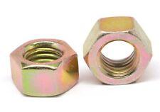 "5//8/""-11 Coarse Hex Flange Nut with Serration Case Hardened Zinc Plated"