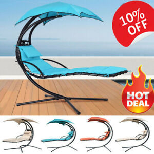 Swing Hammock Garden Helicopter Dream Chair Hanging Chaise ... on Hanging Helicopter Dream Lounger Chair id=74898