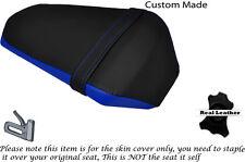 ROYAL BLUE & BLACK CUSTOM FITS YAMAHA YZF R 125 FACELIFT 14-15 REAR SEAT COVER