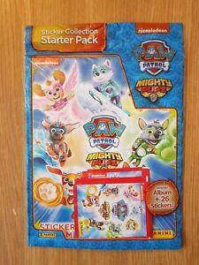 Panini Paw Patrol Mighty Pups Sticker Starter Pack