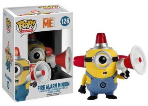 Méprisable Me 2-alarme incendie Minion Figurine En Vinyle Pop Films NEUF