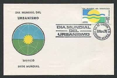 Kreativ Mexico Mk 1976 StÄdteplanung Urban Sonne Maximumkarte Maximum Card Mc Cm D306 Exquisite In Verarbeitung