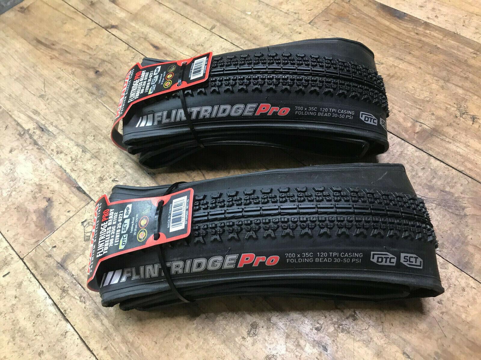 NEW  Pair Kenda Flintridge Pro 700 x 35mm - DTC - Tubeless Ready - 120 TPI -K1152  cheap in high quality