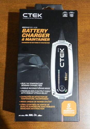 Ctek Battery Charger MXS 5.0 40-206 12 Volt 4.3A