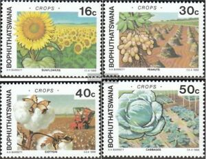 Stamps Stamps Bophuthatswana 206-209 Mint Never Hinged Mnh 1988 Agricultural Products Cheap Sales 50%