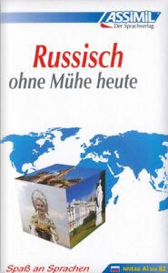 NEU-Russisch-lernen-ohne-Muehe-Sprachbuch-fuer-Anfaenger-und-Wiedereinsteiger