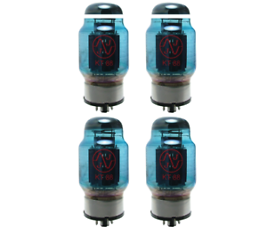 Vacuum-Tube-KT88-JJ-Electronics-Blue-Glass-matched-quad