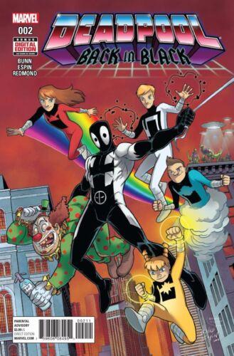 Deadpool Back In Black #2 NM `16 Bunn// Espin