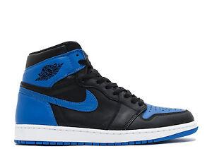 Nike-Air-Jordan-1-I-2017-Retro-High-OG-Royal-Black-Size-11-Shattered-Backboard