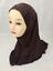Muslim-One-Piece-Children-Hot-Drilling-Pearl-Floral-Bead-Hijab-Islamic-Scarf-Cap thumbnail 39