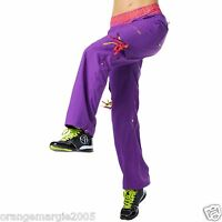 Zumba Dance Samba Cargo Hip Hop Pants Fr.harrods & Uk Convention Fab--rare S M L